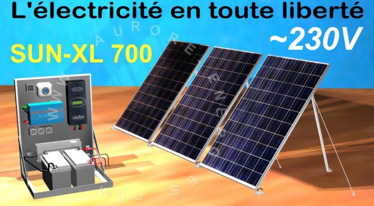 kit solaire 230v