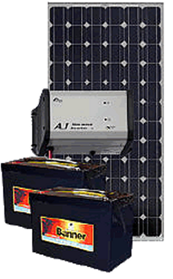 kit solaire 180w idal pour avoir du 220v en site isol 500w panneau solaire polycristallin 24v. Black Bedroom Furniture Sets. Home Design Ideas