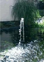 Pompage de l 39 eau fontaine pompe eau solaire 20w de bassin avec tte de j - Jet d eau solaire pour petit bassin ...